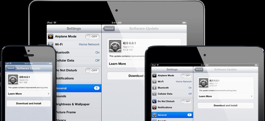 Como atualizar seu iPad,iPhone e iPod touch