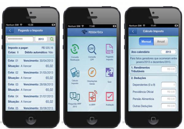 Como fazer a declaração de Imposto de Renda pelo iPhone,iPad e iPod touch