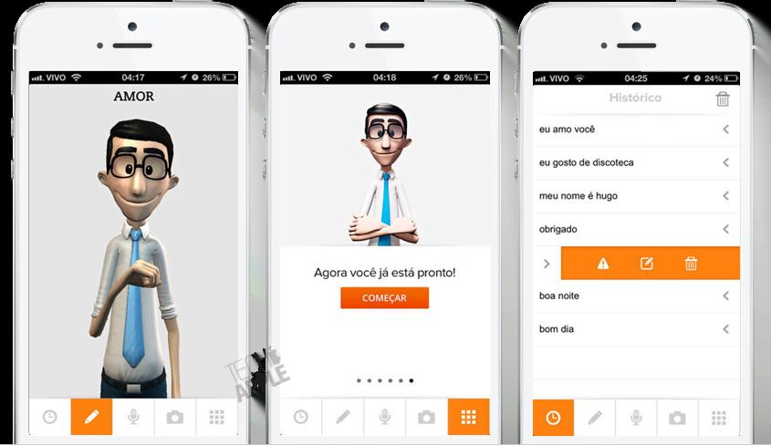 Hand Talk O Aplicativo Que Traduz Portugu 234 S Para L 237 Ngua De