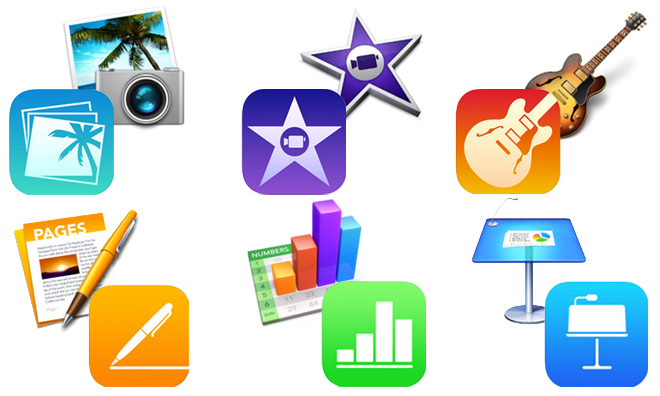Apps da Apple