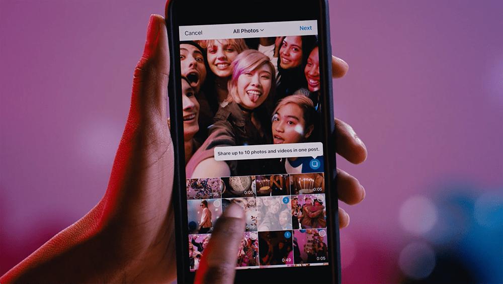 Instagram agora permite publicar 10 imagens em um único post   TechApple.com.br